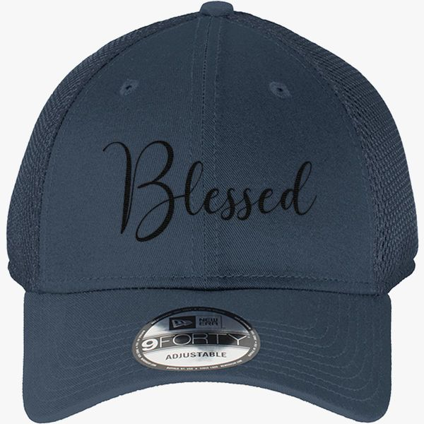Blessed MOM New Era Baseball Mesh Cap - Embroidery +more 5bdd743cfbca