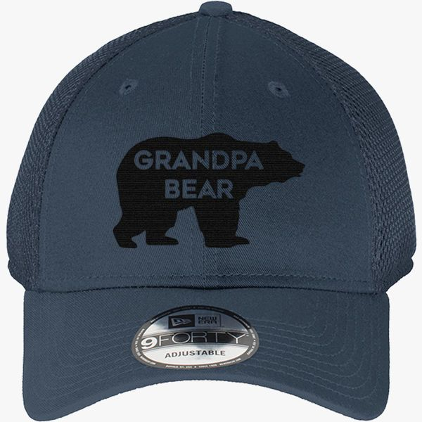 5f6d1ffe3a0 Grandpa Bear New Era Baseball Mesh Cap - Embroidery +more