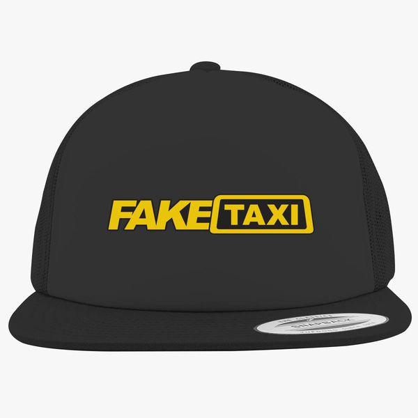 Fake Taxi Logo Foam Trucker Hat | Hatsline com