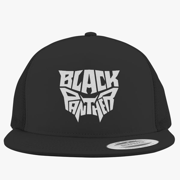black panther Trucker Hat - Embroidery +more 6c86efdc806