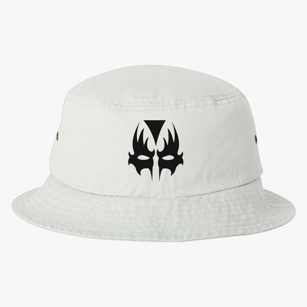 11bf8a41c01be8 Kiss Mask Bucket Hat (Embroidered) | Hatsline.com