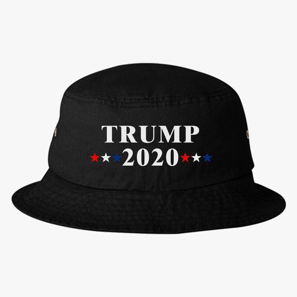 2bd68a6f8e8 Trump 2020 Bucket Hat - Embroidery +more