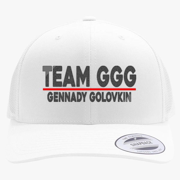 Team GGG Gennady Golovkin Retro Trucker Hat - Embroidery +more 82acf1f05672