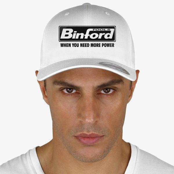 ef581b5eb45cd Binford Tools When You Need Power Baseball Cap - Embroidery +more