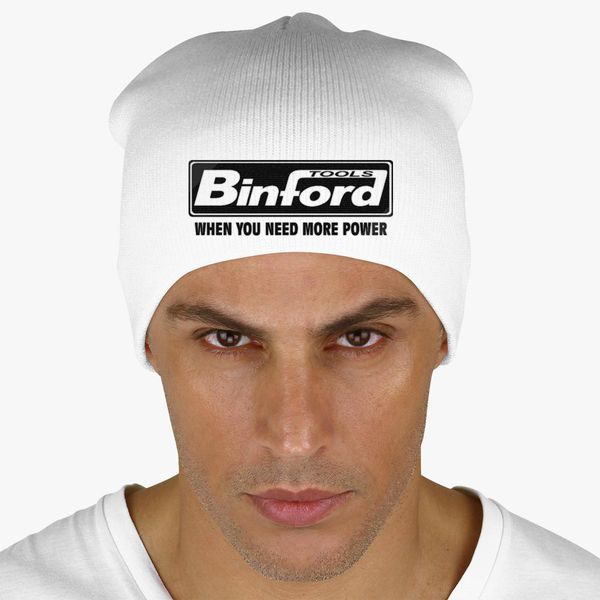 cccaa61bc8bde Binford Tools When You Need Power Knit Beanie - Embroidery +more