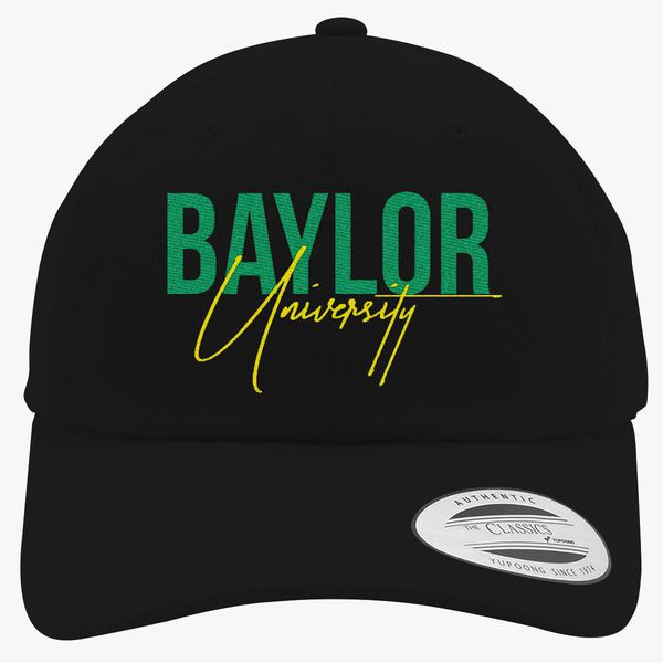 baylor university Cotton Twill Hat - Embroidery +more 12032c82528d