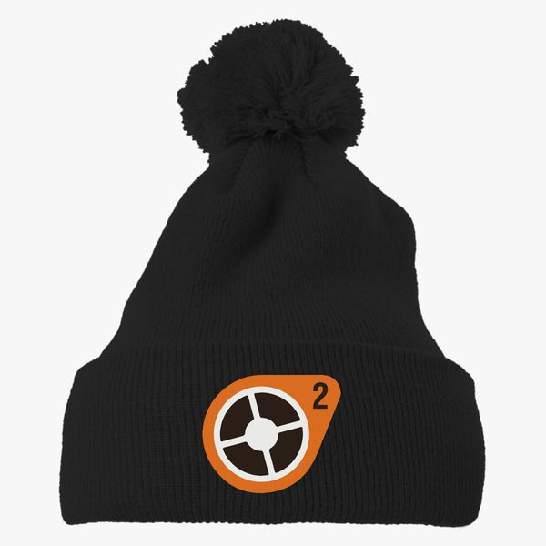 Team Fortress 2 Logo Knit Pom Cap Embroidered Hatsline Com