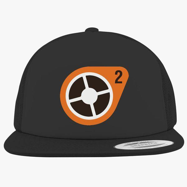Team Fortress 2 Logo Foam Trucker Hat Hatsline Com