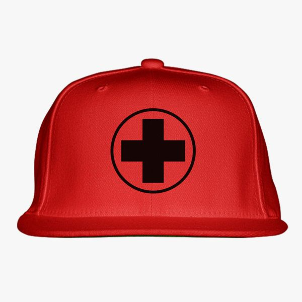 947bd5f38 Team Fortress 2 Medic Emblem Snapback Hat   Hatsline.com