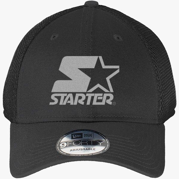 5730947b8c8 Starter Star WIN New Era Baseball Mesh Cap - Embroidery +more