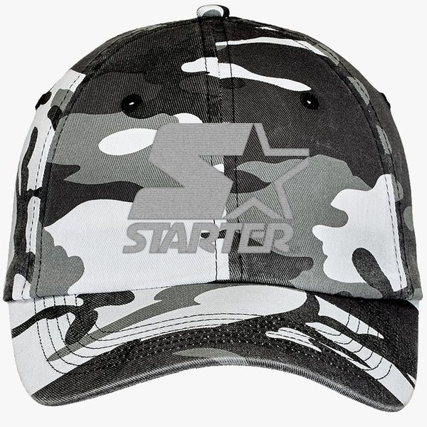 b7ed11d5049 Starter Star WIN Camouflage Cotton Twill Cap - Embroidery +more