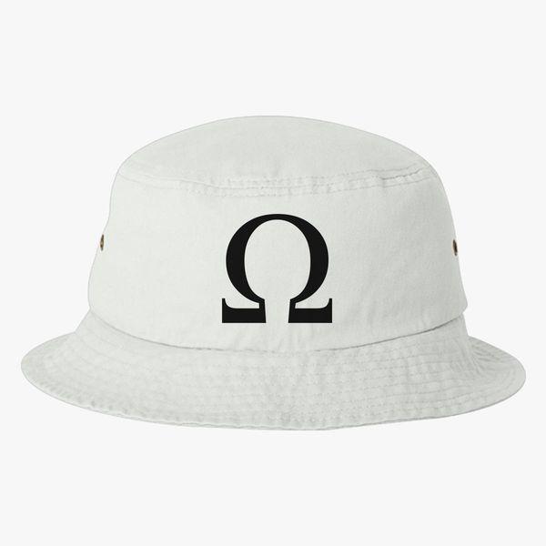 a640039e9567d God of War Omega Symbol Bucket Hat | Hatsline.com