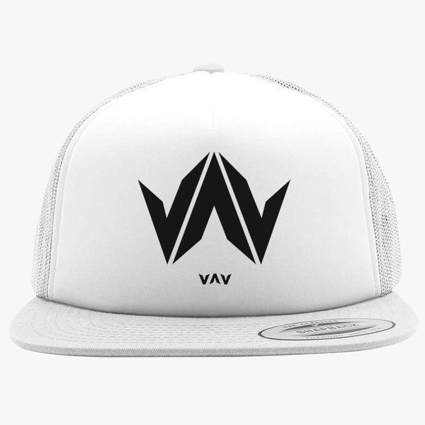 acec0534b08fb vav logo Foam Trucker Hat