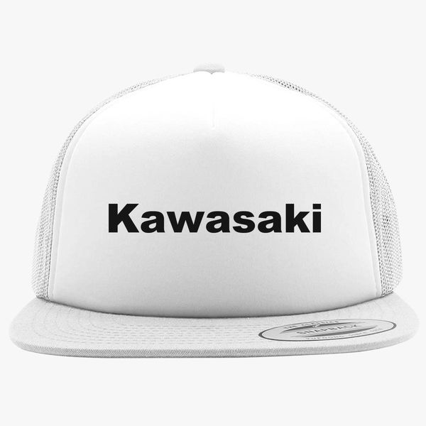 Kawasaki Logo Foam Trucker Hat  bbb325b5154