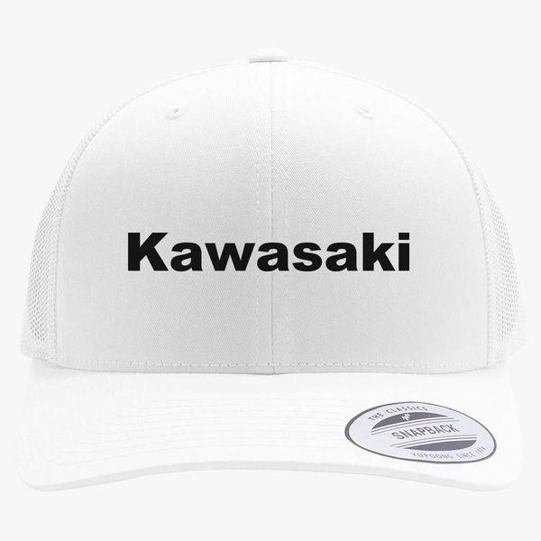 Kawasaki Logo Retro Trucker Hat  b715bffcbe5