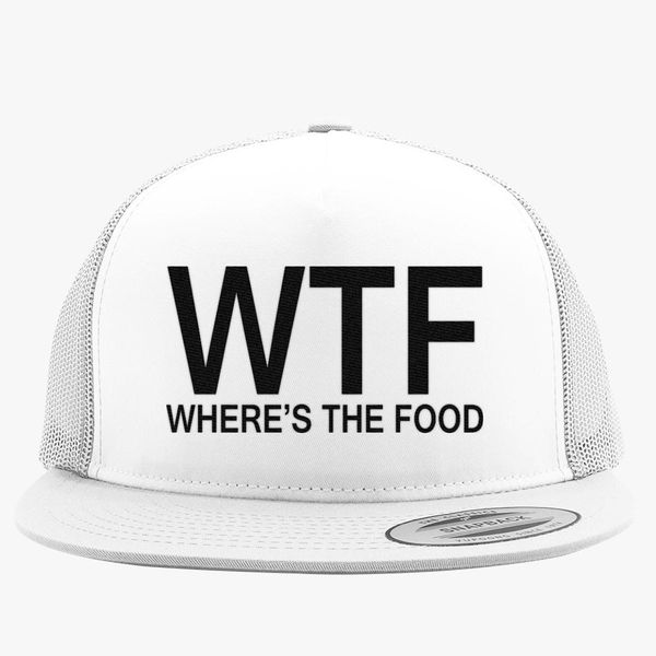 32f748699f4 WTF Trucker Hat - Embroidery +more