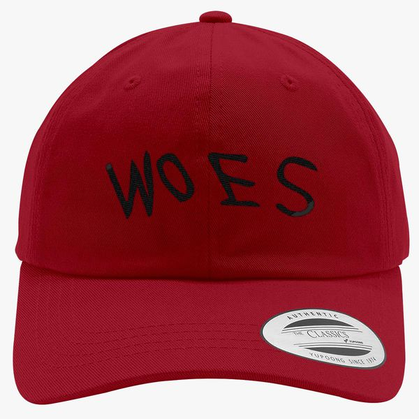 fb8d73fdc80 Woes Cotton Twill Hat (Embroidered)