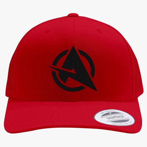 48120087f14 Ali-a logo Retro Trucker Hat - Embroidery +more