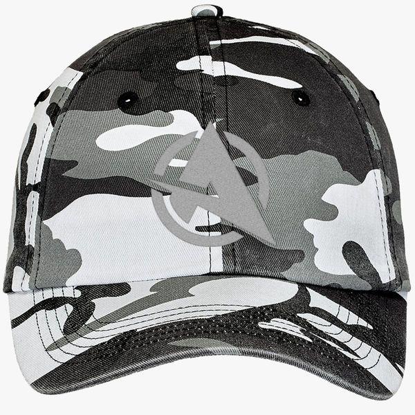 9b387e4e Ali-a logo Camouflage Cotton Twill Cap (Embroidered) | Hatsline.com