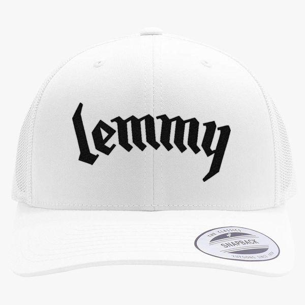 eb4babd4742 MotorHead - Motörhead lemmy Retro Trucker Hat - Embroidery +more