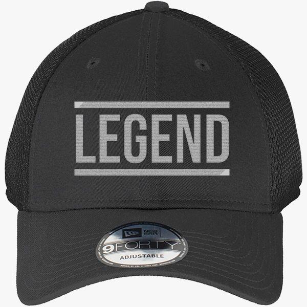 bd1ea2b2 LEGEND New Era Baseball Mesh Cap (Embroidered) | Hatsline.com
