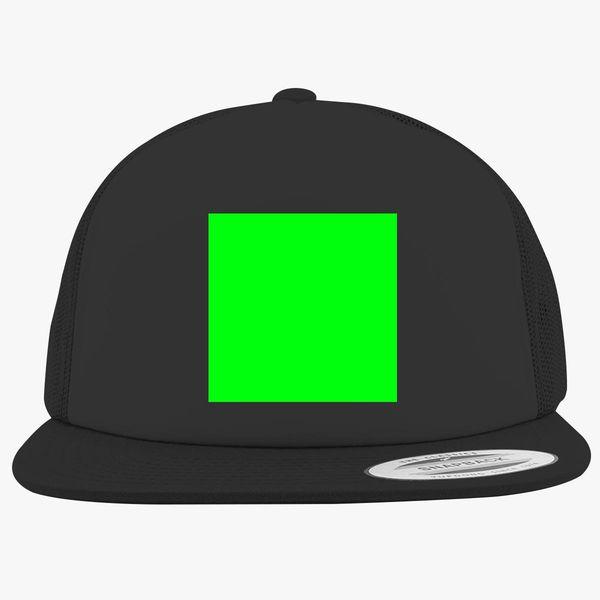 Greenscreen To Edit After Effects Photoshop Foam Trucker Hat | Hatsline com