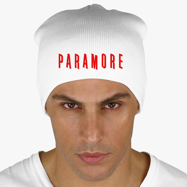6dfec236b5d Paramore Knit Beanie - Embroidery Change style
