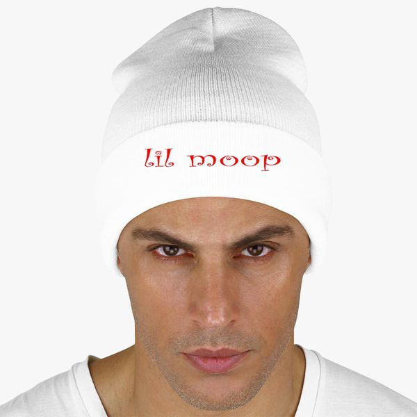 9f75661c89a lil moop logo Knit Cap - Embroidery +more