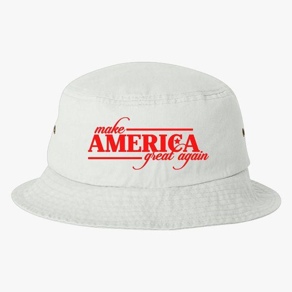 eff4ec0dc Make America Great Again Bucket Hat (Embroidered) | Hatsline.com
