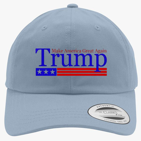 808d5ef9d Trump Make America Great Again Cotton Twill Hat (Embroidered) - Hatsline.com