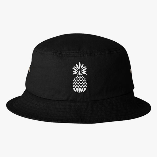 Pineapple Bucket Hat - Embroidery +more c02a30a4bc3