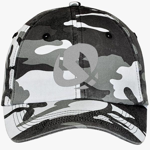 309e58c239a4fb Team skull Camouflage Cotton Twill Cap (Embroidered) | Hatsline.com