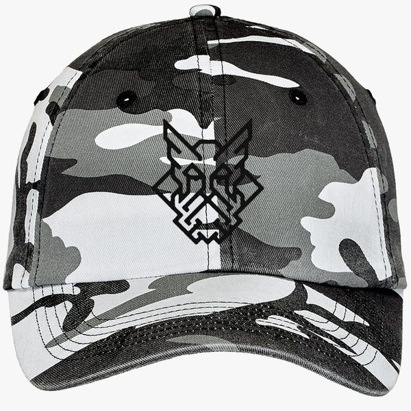 3bf559f9e4b2a viking Camouflage Cotton Twill Cap - Embroidery +more