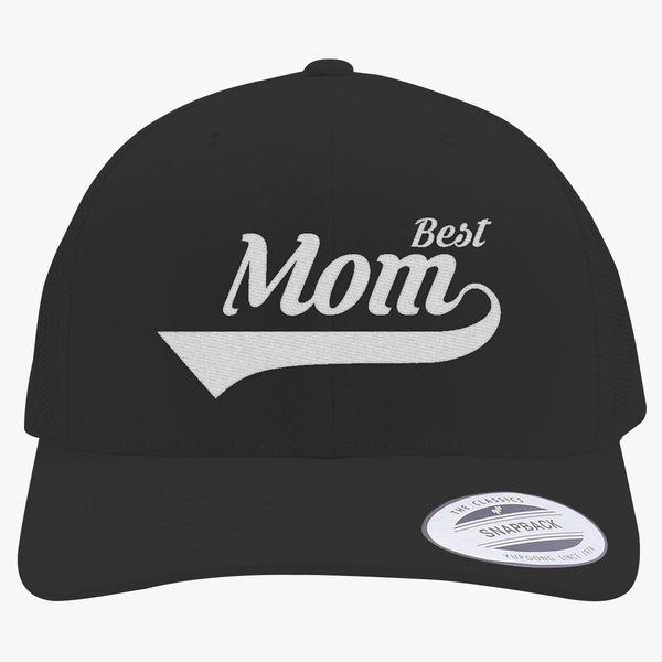 4bfaa11e2594f Best Mom Retro Trucker Hat - Embroidery +more
