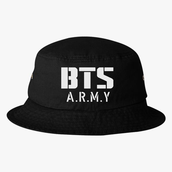 BTS Bangtan Boys BTS ARMY Bucket Hat - Embroidery +more