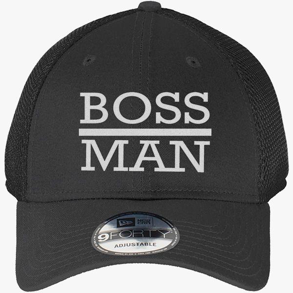 f24ae46f6d922 boss man New Era Baseball Mesh Cap - Embroidery +more