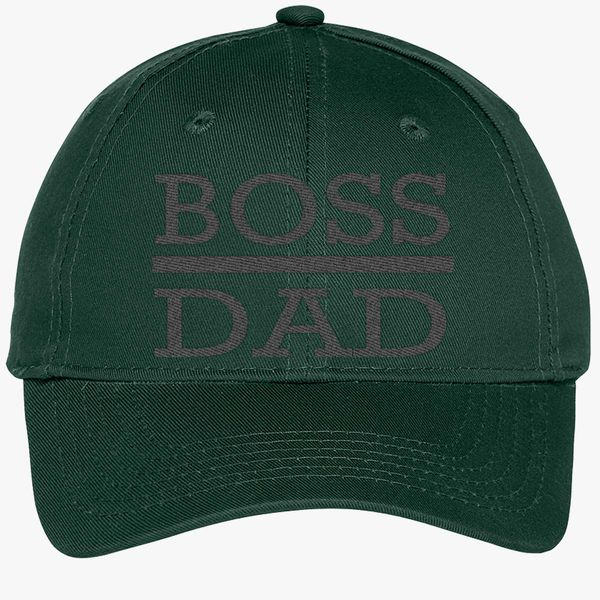 4b76ef5f44aa8 boss dad Youth Six-Panel Twill Cap - Embroidery +more