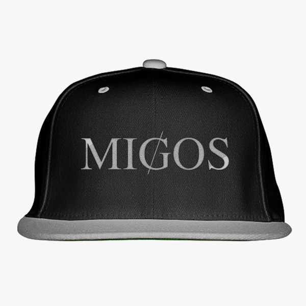 c0cb8e5924e4c Migos Logo  Migos Logo New Era Snapback Cap (Embroidered – decalsigns