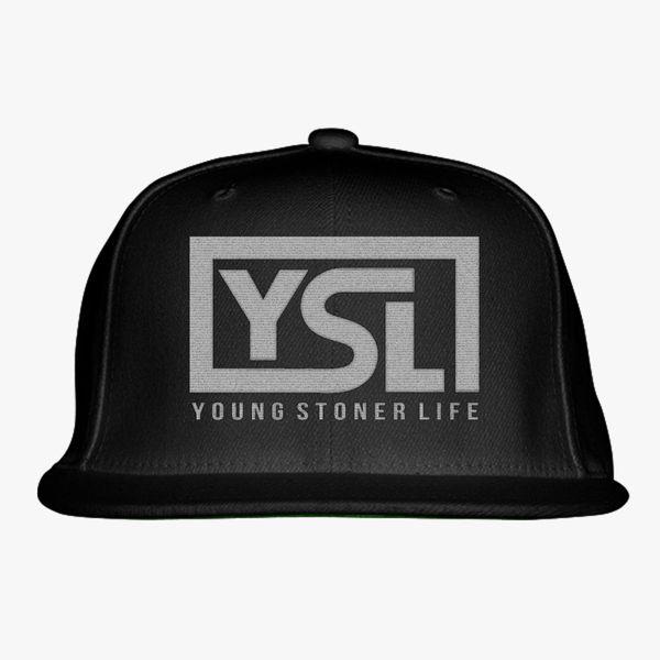 11cba8031 Young Stoner Life Snapback Hat (Embroidered) | Hatsline.com