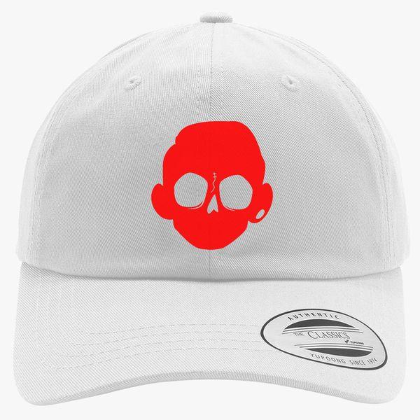 Zomboy Head Logo Cotton Twill Hat  60d799580ee