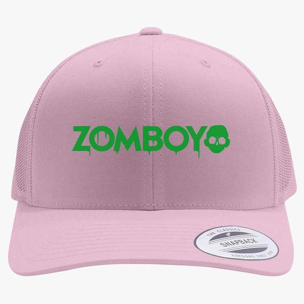 Zomboy Logo Retro Trucker Hat  09699dcd483