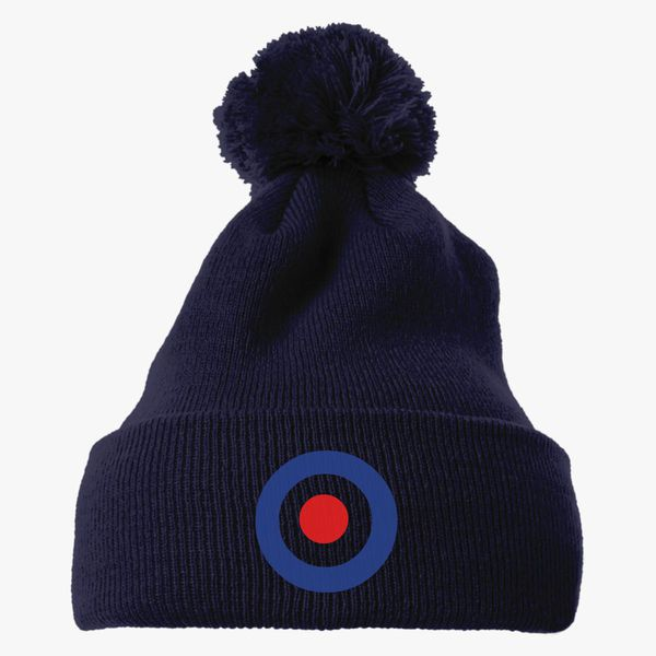 86f49d6a4338a The Who Band Keith Moon s Target Logo Knit Pom Cap