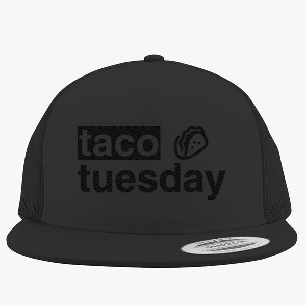 64d302025 Taco Tuesday Trucker Hat (Embroidered) | Hatsline.com