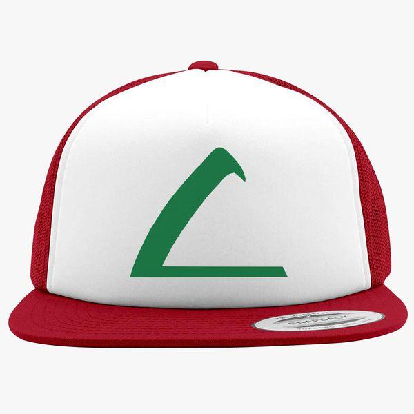 f5047e4c Ash Hat Logo Foam Trucker Hat | Hatsline.com