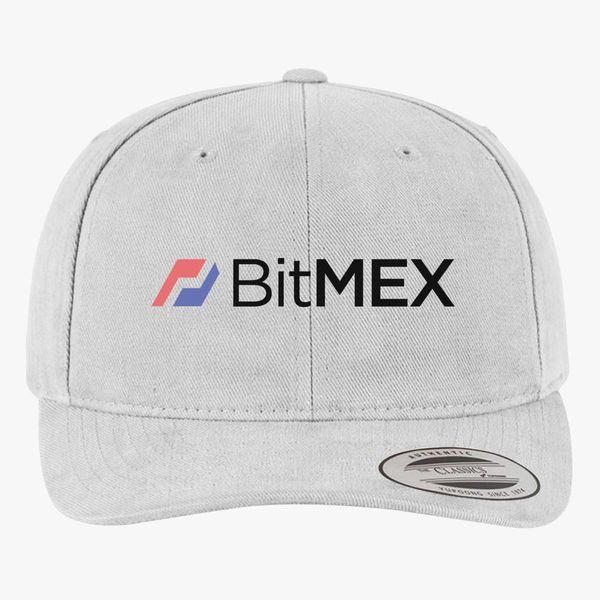 BitMex Logo Brushed Cotton Twill Hat | Hatsline com