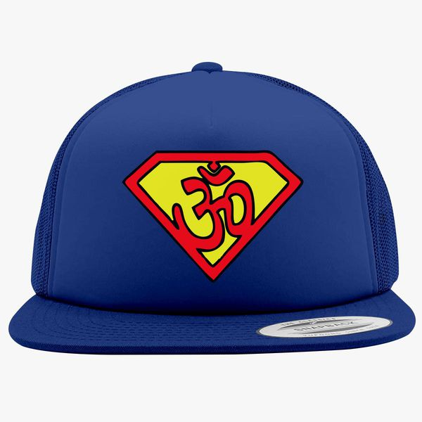 dfd8581b808 Yoga-man Foam Trucker Hat +more