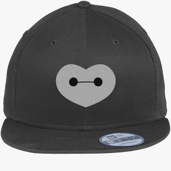 c5384880b95 Big Hero 6 - Baymax Shaped Heart New Era Snapback Cap (Embroidered ...