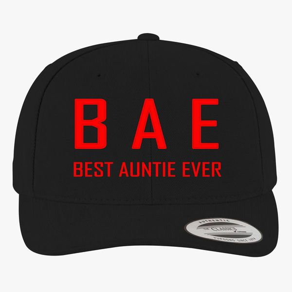 Best Auntie Ever Brushed Cotton Twill Hat (Embroidered) | Hatsline com