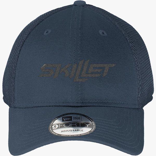 37c20a859 skillet black New Era Baseball Mesh Cap (Embroidered)   Hatsline.com