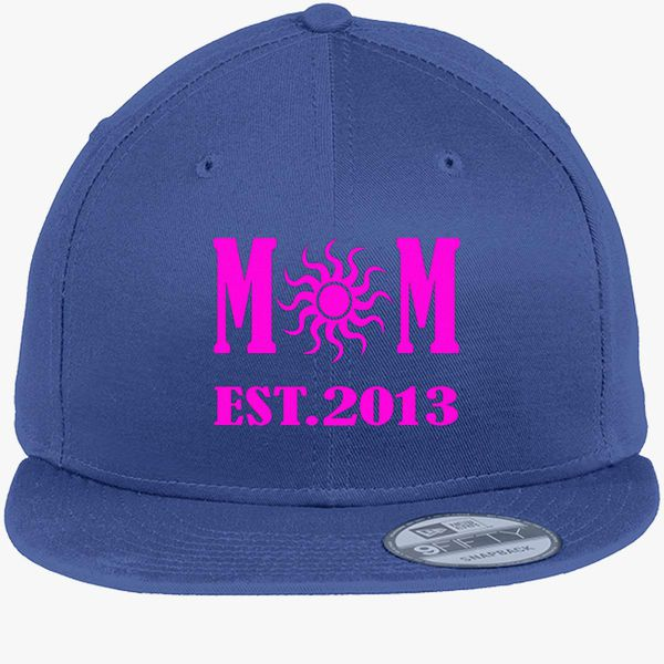 mother est 2013 new era snapback cap embroidered